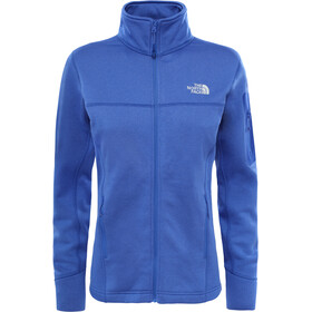 The North Face Kyoshi Full Zip Fleece Jacket Dam amparo blue heather